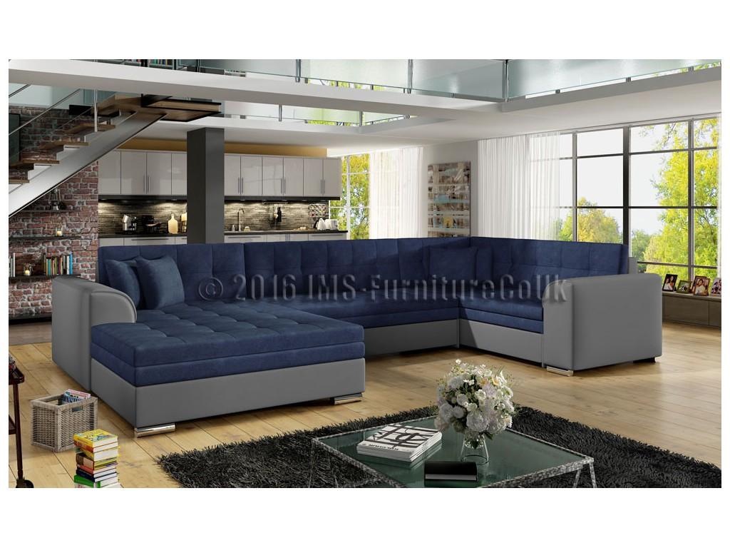 DARIO corner sofa bed JMS Furniture